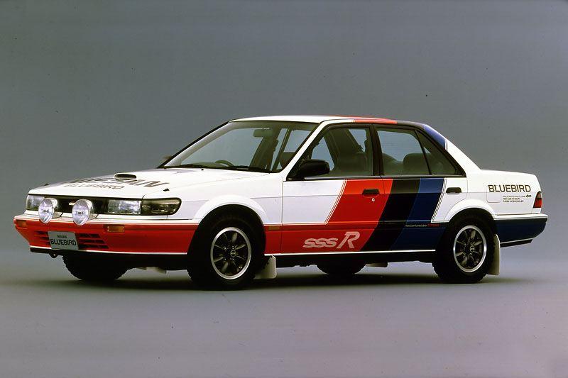 Nissan Bluebird SSS-R, rajdy, JDM, CA18DET-R