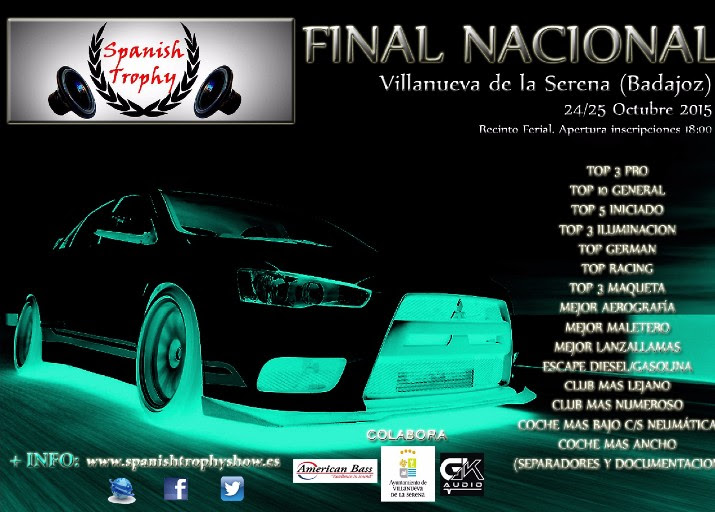 Final Naional de Spanish trophy