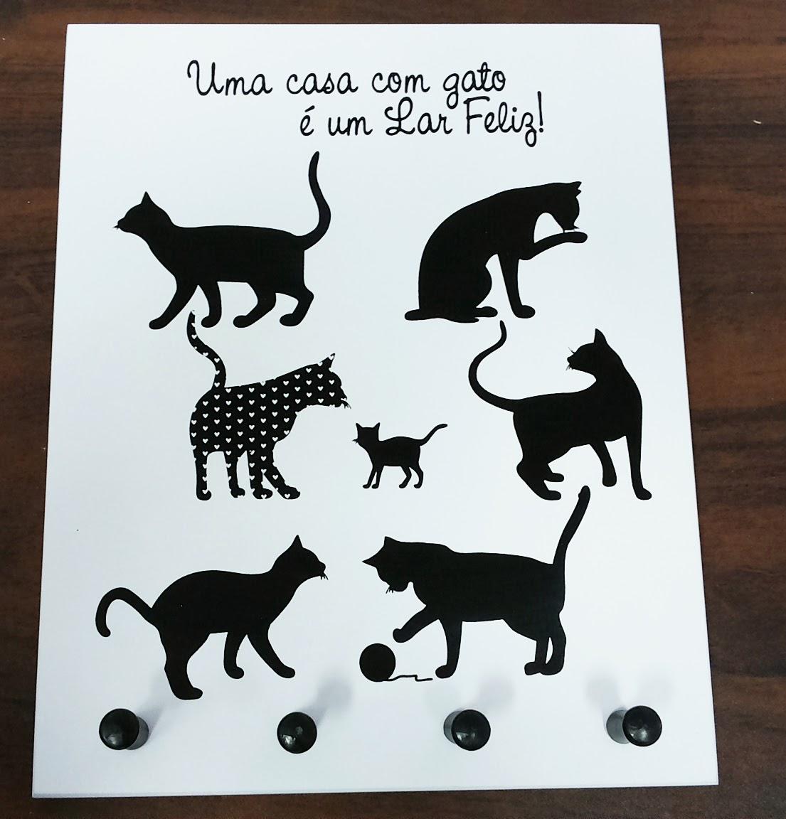 Artesanato Zenir Disarz ~ CR MIX Decoraç u00e3o e Presentes Porta Chave Gato e Porta Chave Cachorro Zenir Disarz