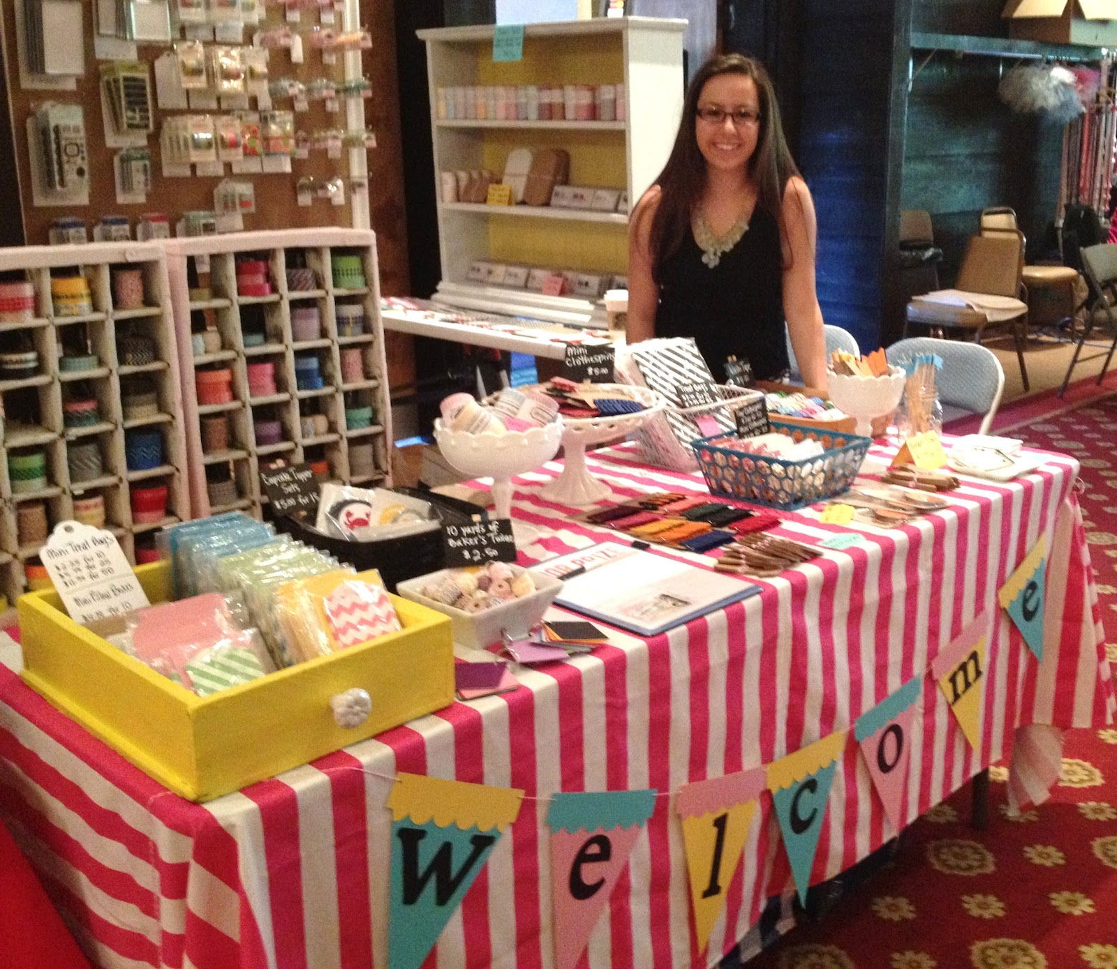 lovely little life very first craft show