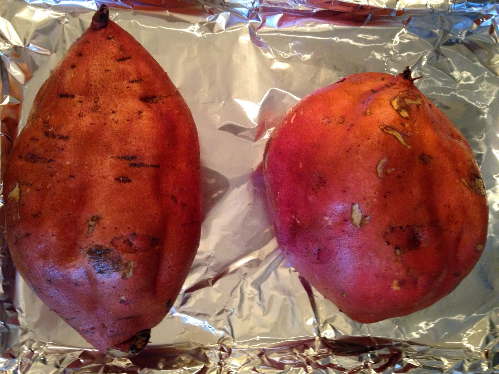 how to cook yams in oven