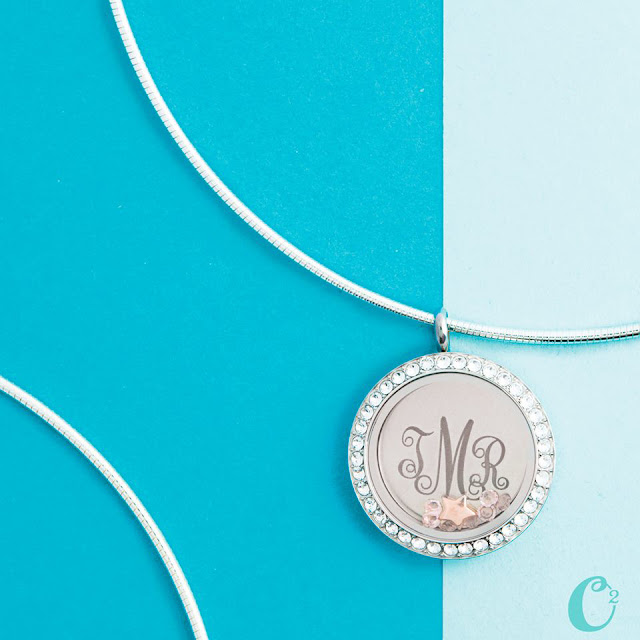 Origami Owl Living Locket on Collar Chain available at StoriedCharms.com