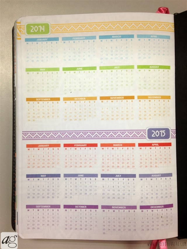 Belle De Jour Power Planner 2014 Yearly Calendar