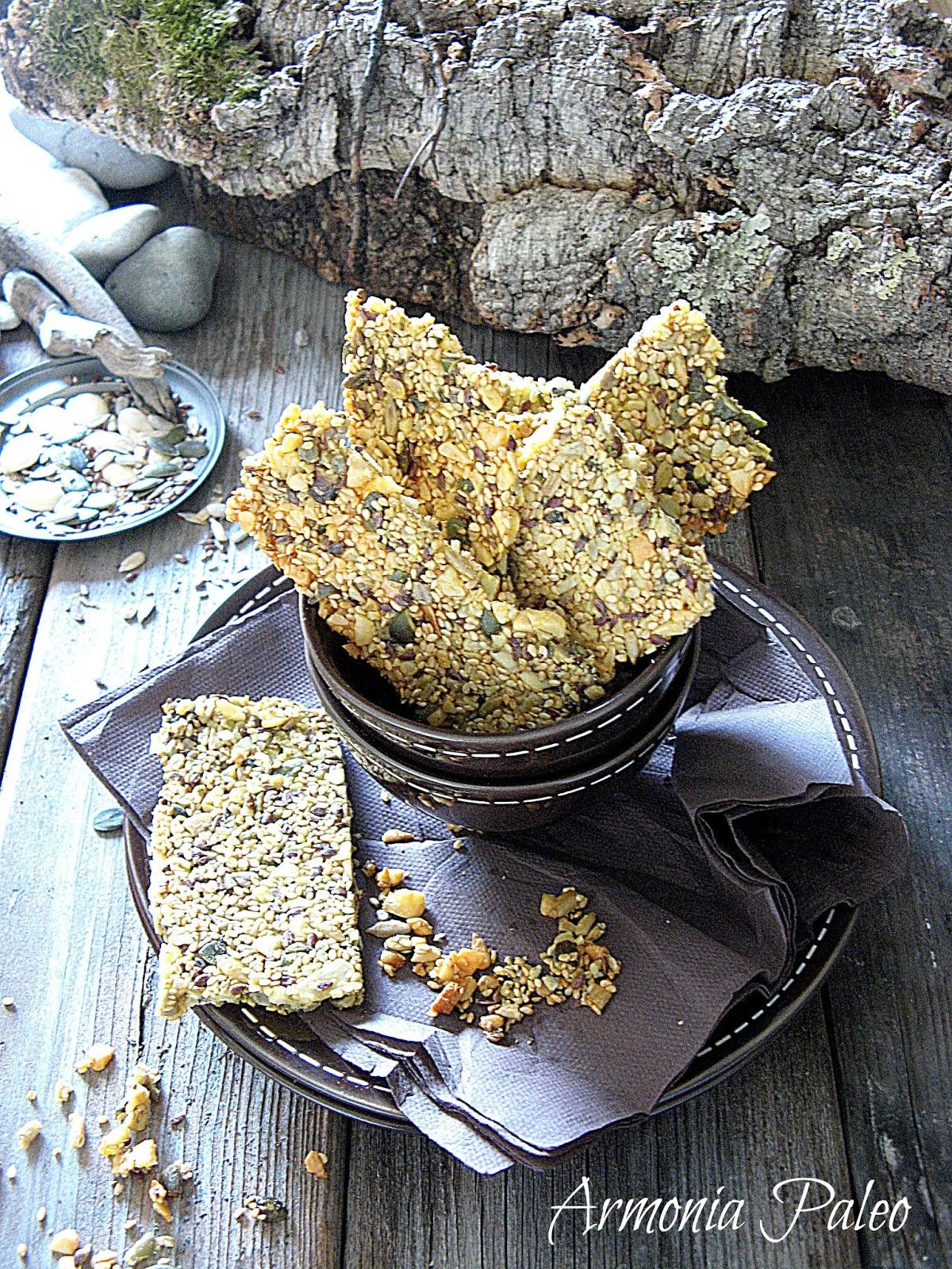 knäckebröd - paleo pane croccante svedese