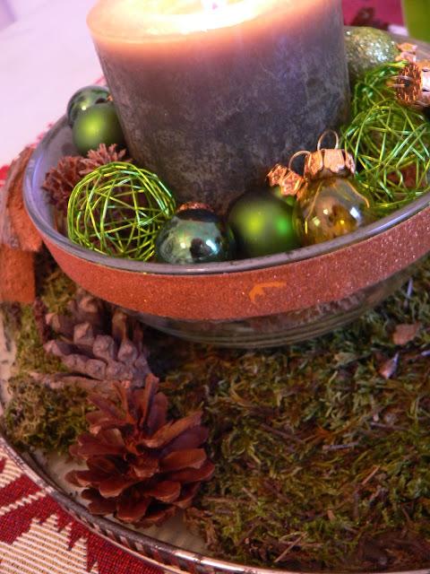 Weihnachten Deko Schale Weihnachtskugeln