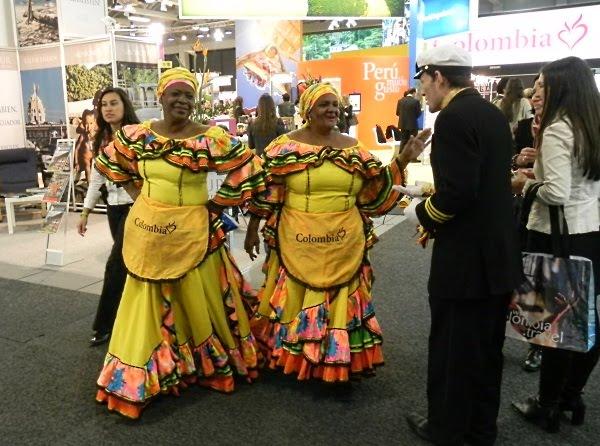 Kolumbia na targach turystycznych