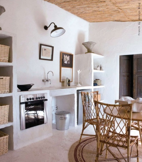 En mi espacio vital muebles recuperados y decoraci n - Cocinas de obra rusticas ...