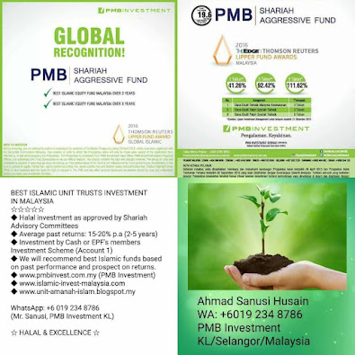 Best Islamic unit Trusts investment in Malaysia