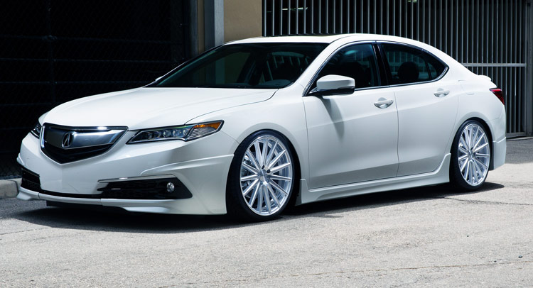 2015 Acura Tlx Sedan Tuned By Pembroke Pines Amp Vossen W