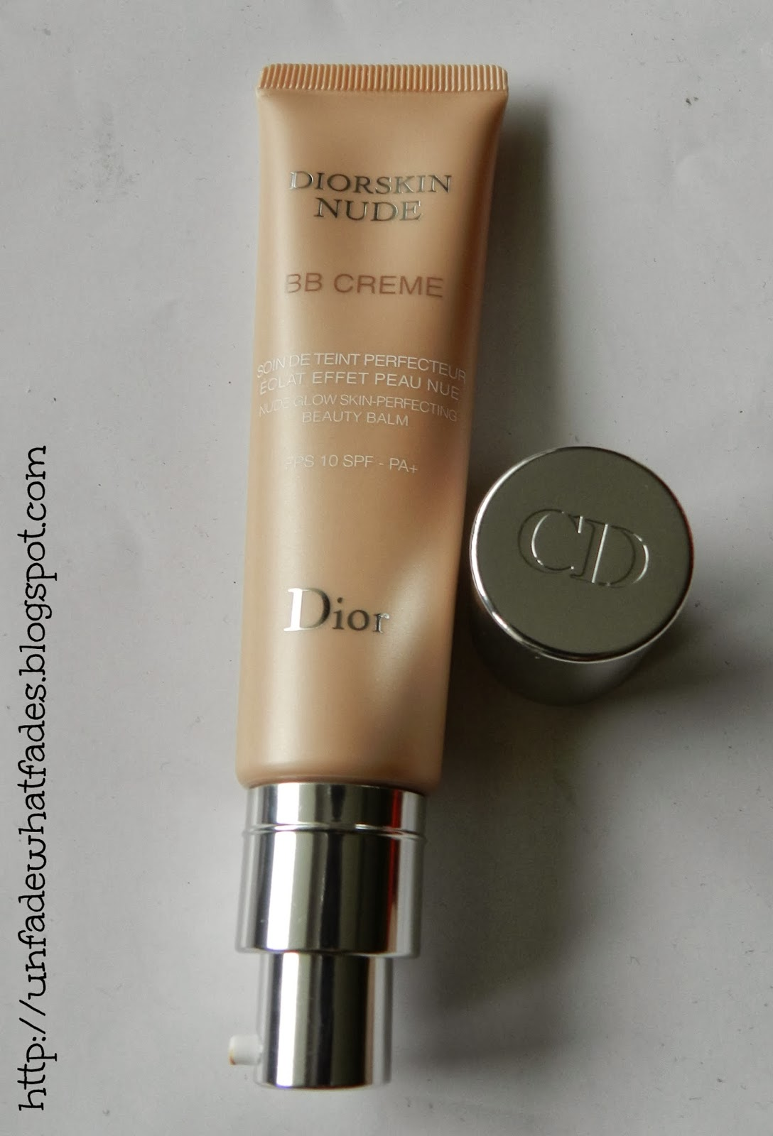 unfade what fades diorskin nude bb cream in 002 review swatches. Black Bedroom Furniture Sets. Home Design Ideas