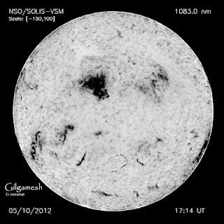 manchas solares 1476, 11 de Mayo de 2012