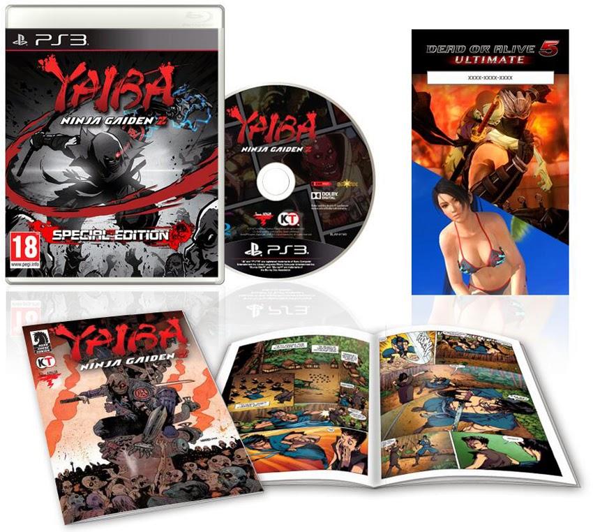 Yaiba: Ninja Gaiden Z - Special Edition (Ps3 version)