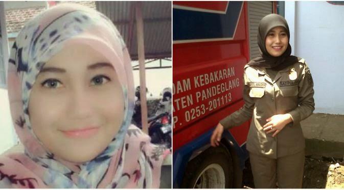 Satpol PP Nurul Habibah Ternyata Foto Model?