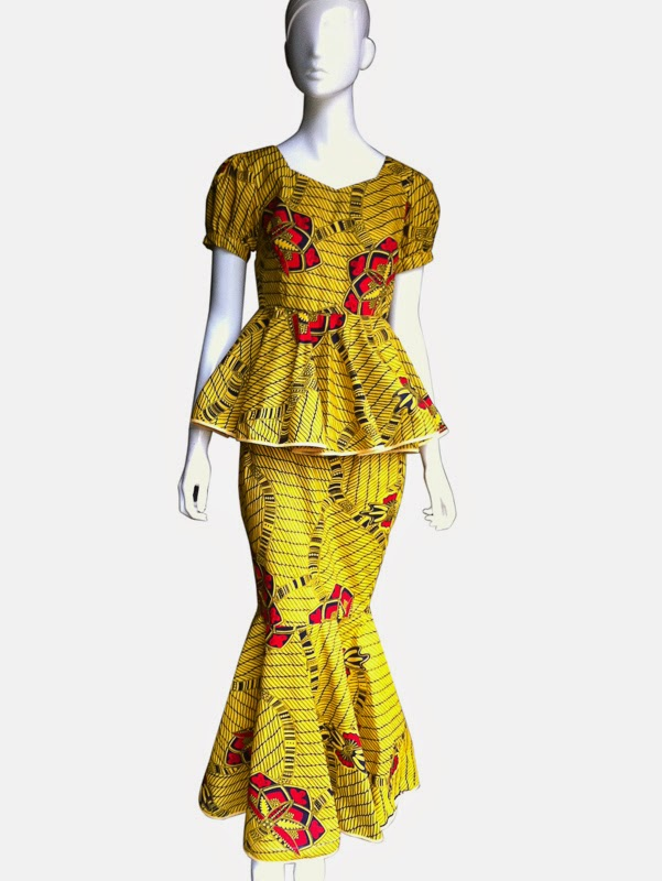 Flashback Summer: African and 1930s Trends - Ankara dress