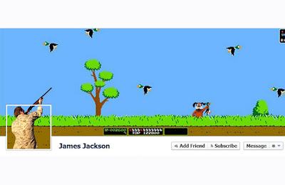 Facebook Cover, Sangat Kreatif, Duck Hunt