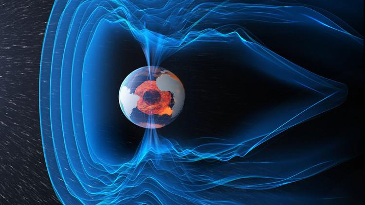 El campo magnético de la tierra tiene la misma antiguedad que ella.