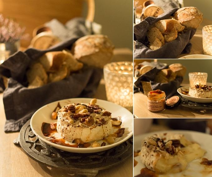 uuni camembert, pikkujouluihin helppo ja nopea tarjottava, erilaista pikkusuolaista pikkujouluihin, illanistujaisiin pientä suolaista, uuni juusto, valkohomejuusto uuniin