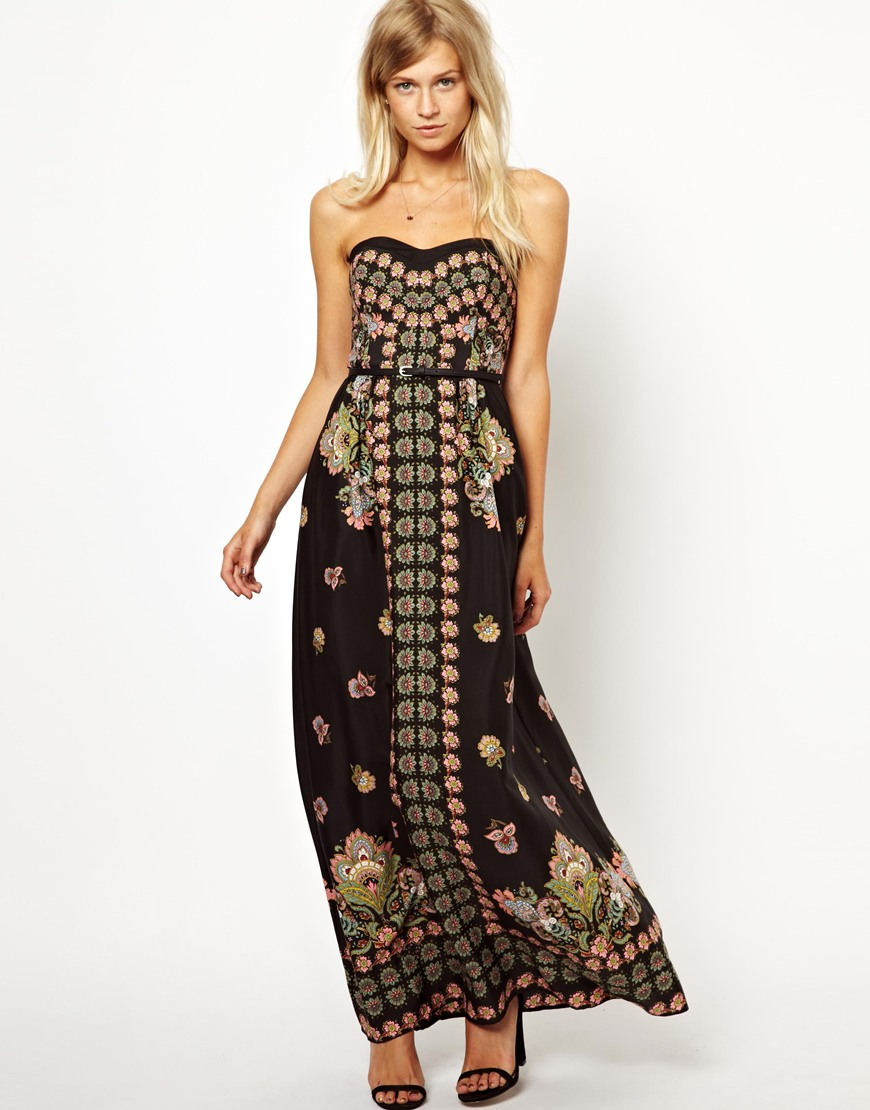 pretties' closet: Oasis Paisley Print Maxi Dress