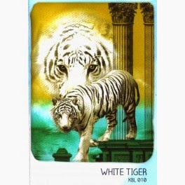 Jual Selimut Kendra Soft Panel Blanket White Tiger