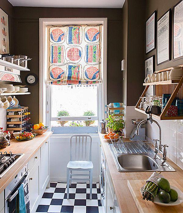 HOME GARDEN Idées Pour Aménager Une Petite Cuisine - Cuisine atypique