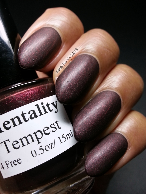 Tempest by Mentality Nail Polish   Simply Into My NAILS