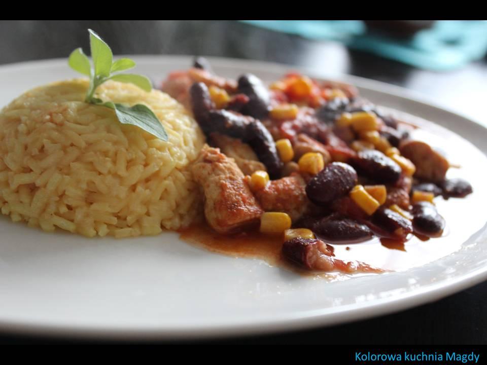 Kolorowa Kuchnia Magdy Kurczak Po Meksykańsku