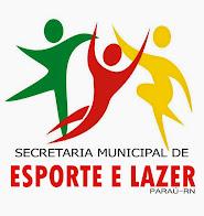 LOGOMARCA DA SEC. DE ESP. E LAZER - PARAÚ/RN