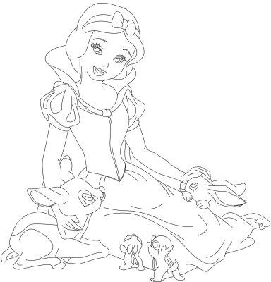 disney princess coloring pages snow white - snow white disney princess coloring pages to girls