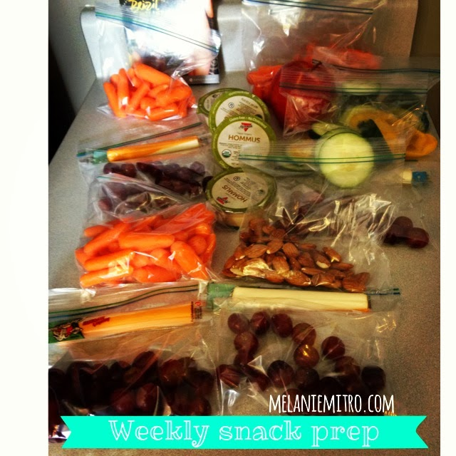 Clean Eating Snack Preparation