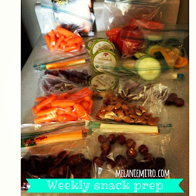 Clean Eating Snack Preparation