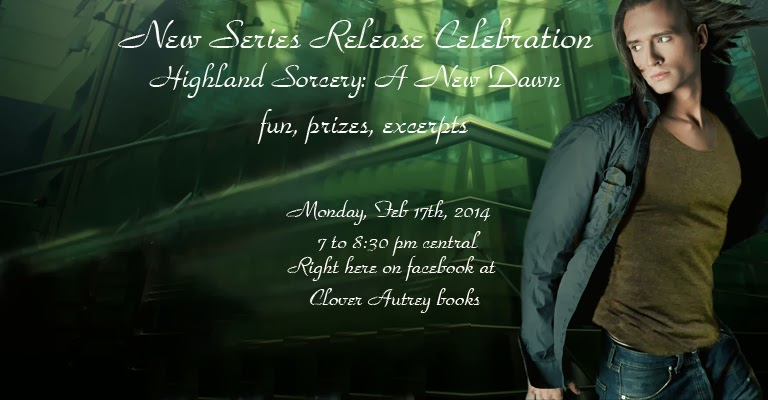 New series Release Celebration for Highland Sorcery A New Dawn