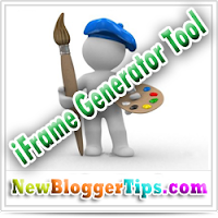 iFrame Generator Tool for Blog-website