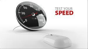 mengetes kecepatan internet
