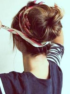 peinados+pañuelos