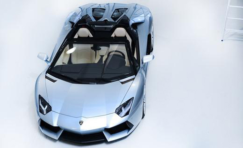 Lamborghini Aventador LP700-4 Roadster up
