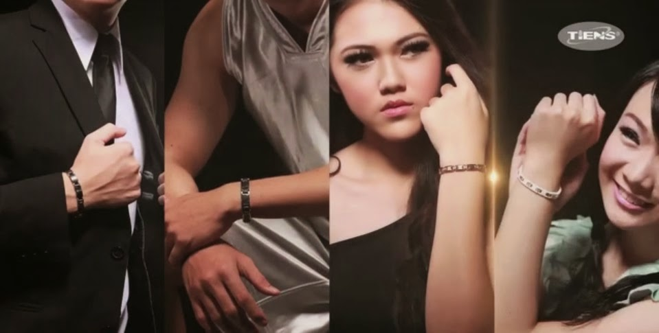 Gelang Kesehatan Kecantikan Tiens Ti Energy Bracelet Women Men