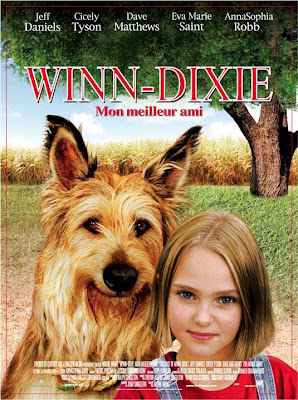 Watch Because of Winn-Dixie 2005 BRRip Hollywood Movie Online | Because of Winn-Dixie 2005 Hollywood Movie Poster