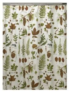 Best Foliage Or Leaf Shower Curtains O Curtain It