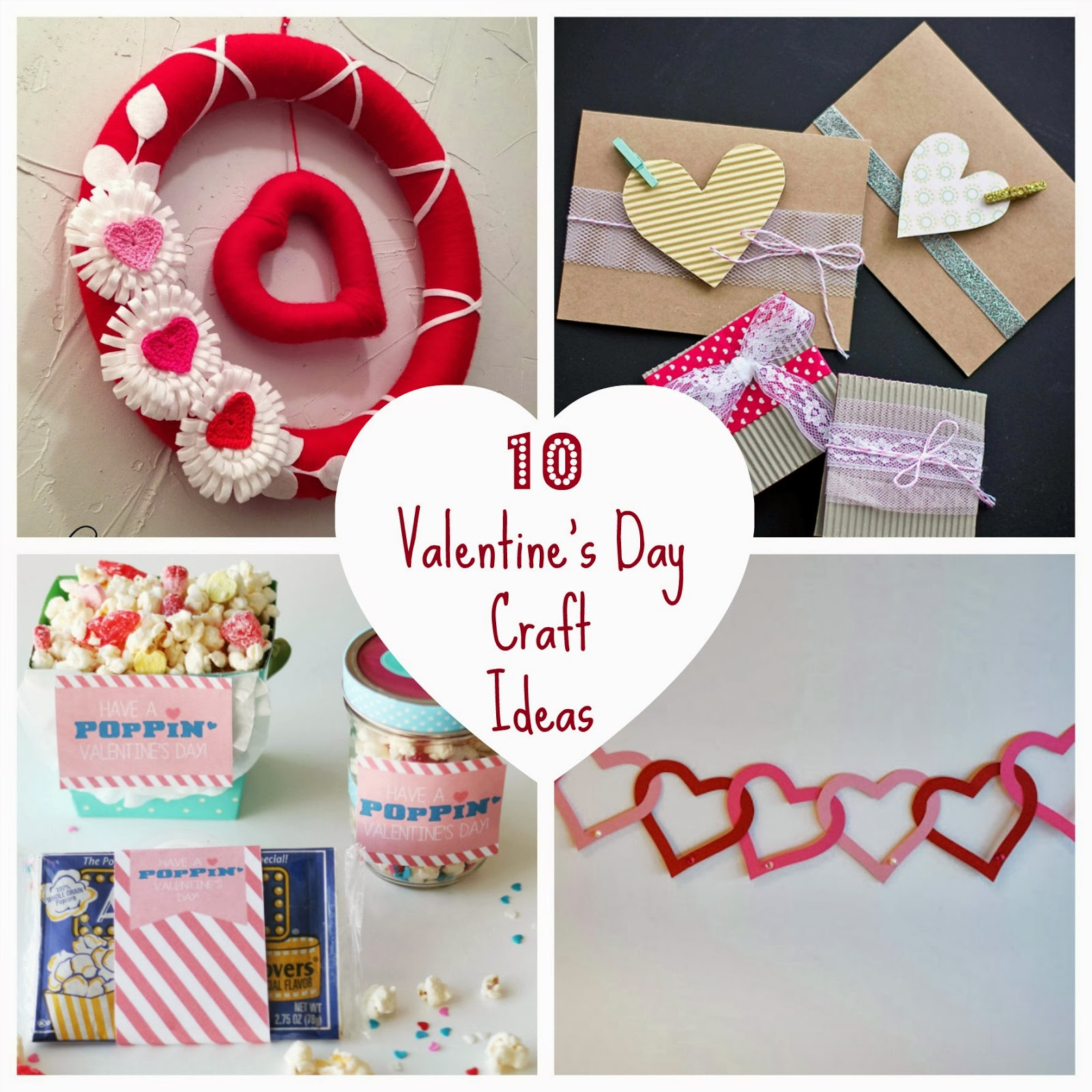 Fun home things for Crafts for valentines day ideas