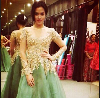 Model Baju Kebaya Rancangan Ivan Gunawan