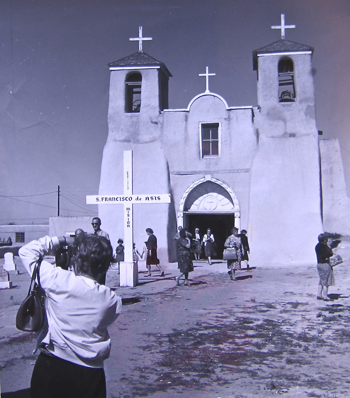 Two Graces Taos San Francisco de Asis Church Ranchos de Taos Part