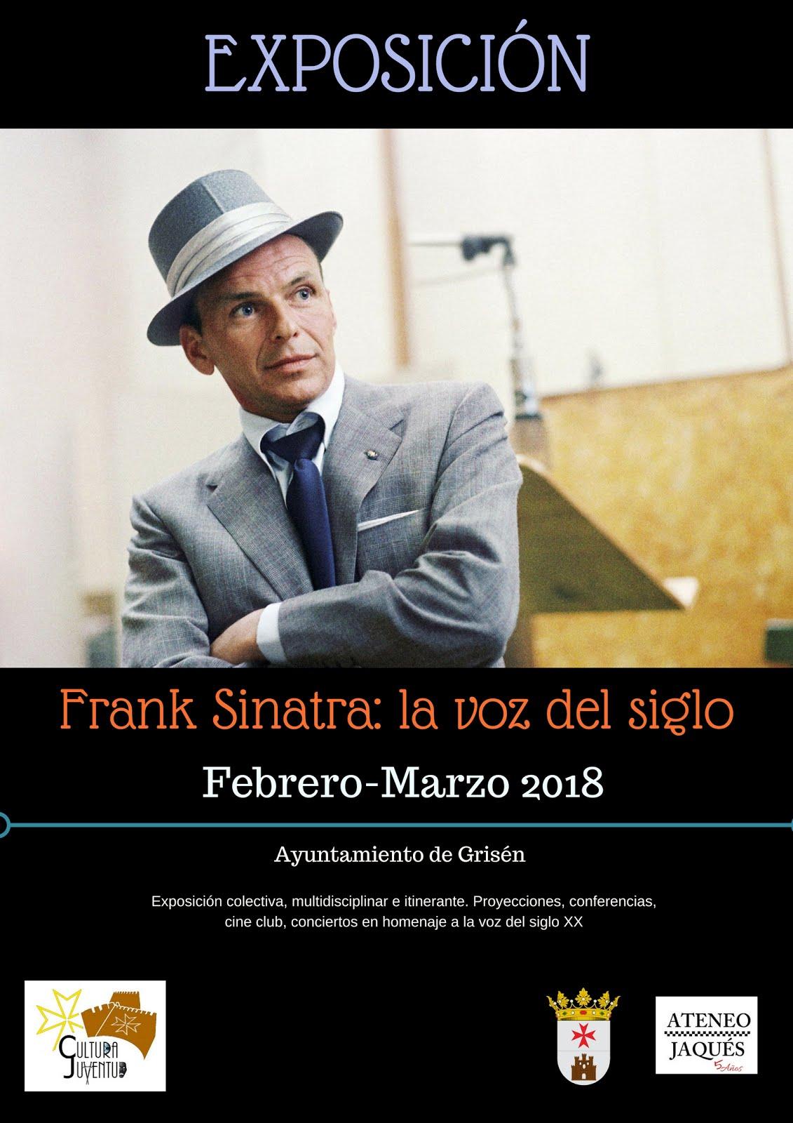"""Ayuntamiento de Grisén: Exposición """"Sinatra, la voz del siglo"""""""