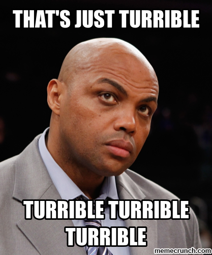 Charles Barkley - Turrible