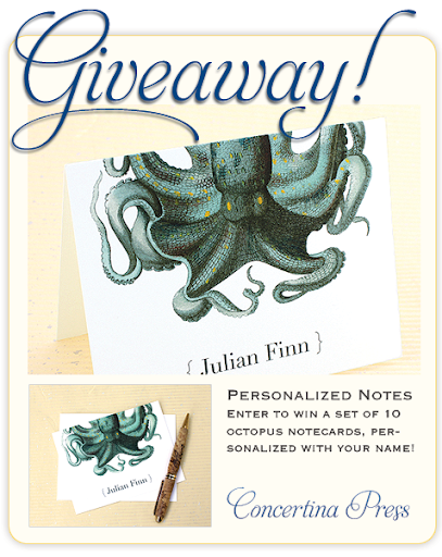 octopus-notecard-giveaway