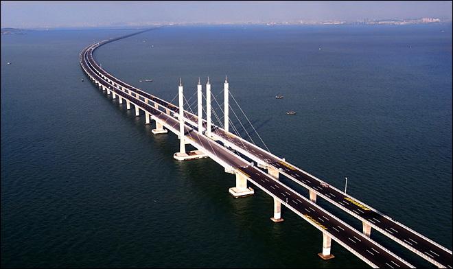 Kmhouseindia world s longest cross sea bridge Longest house in the world