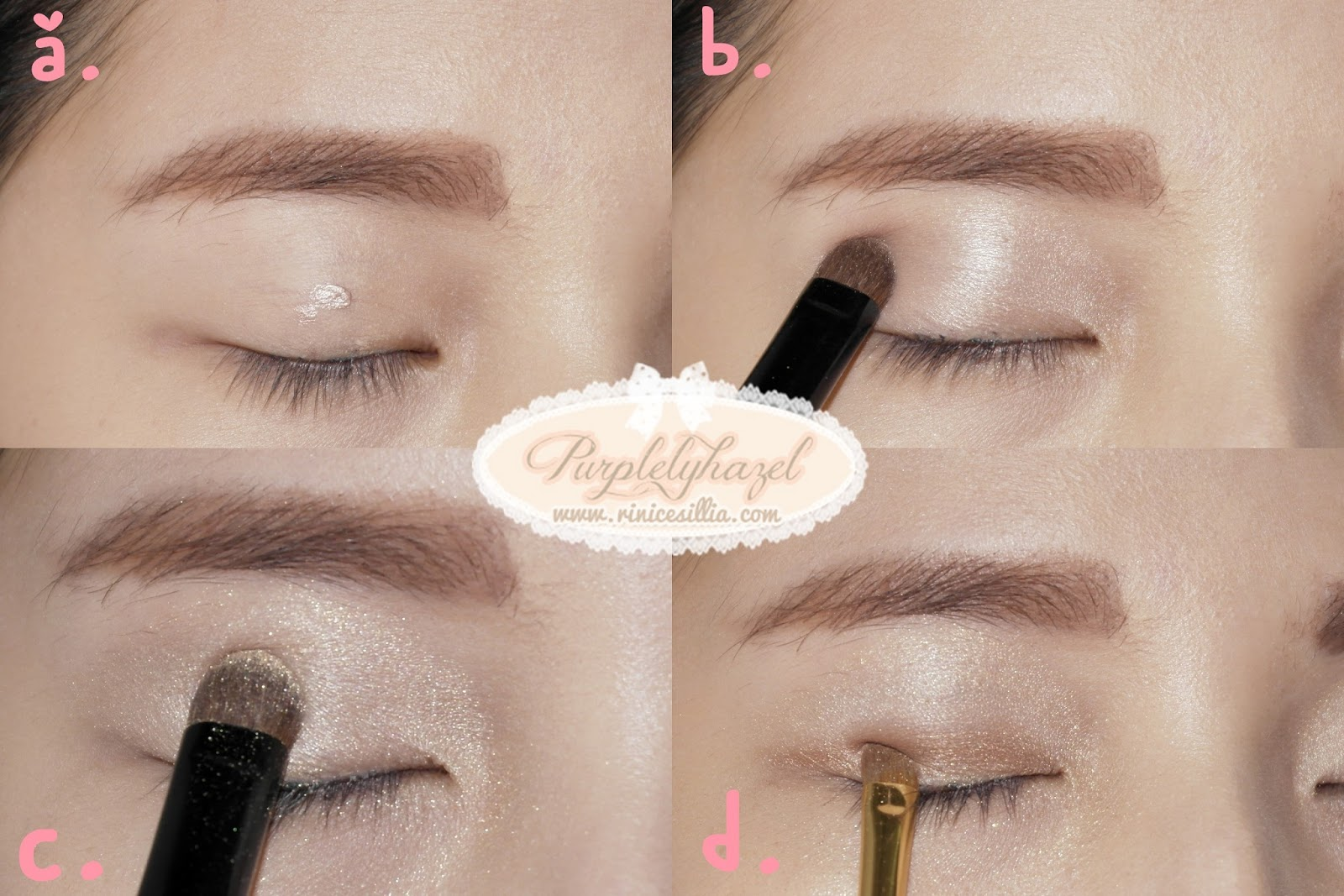 T ara n4 inspired makeup tutorial rini cesillias beauty blog i find that to draw this kind of brow perfectly the best i have to use is like etude house drawing eye brow then to color it i use etude house color my baditri Image collections