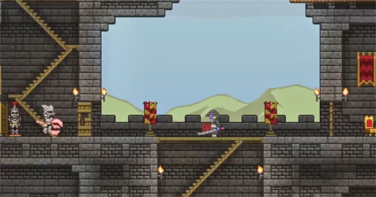 Starbound Castel