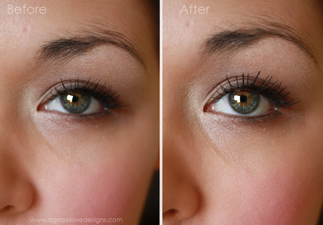 how to not get mascara on my eyelids