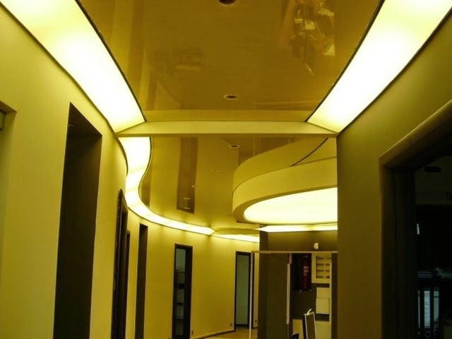 suspended ceiling design for hall - built in false ceiling lights