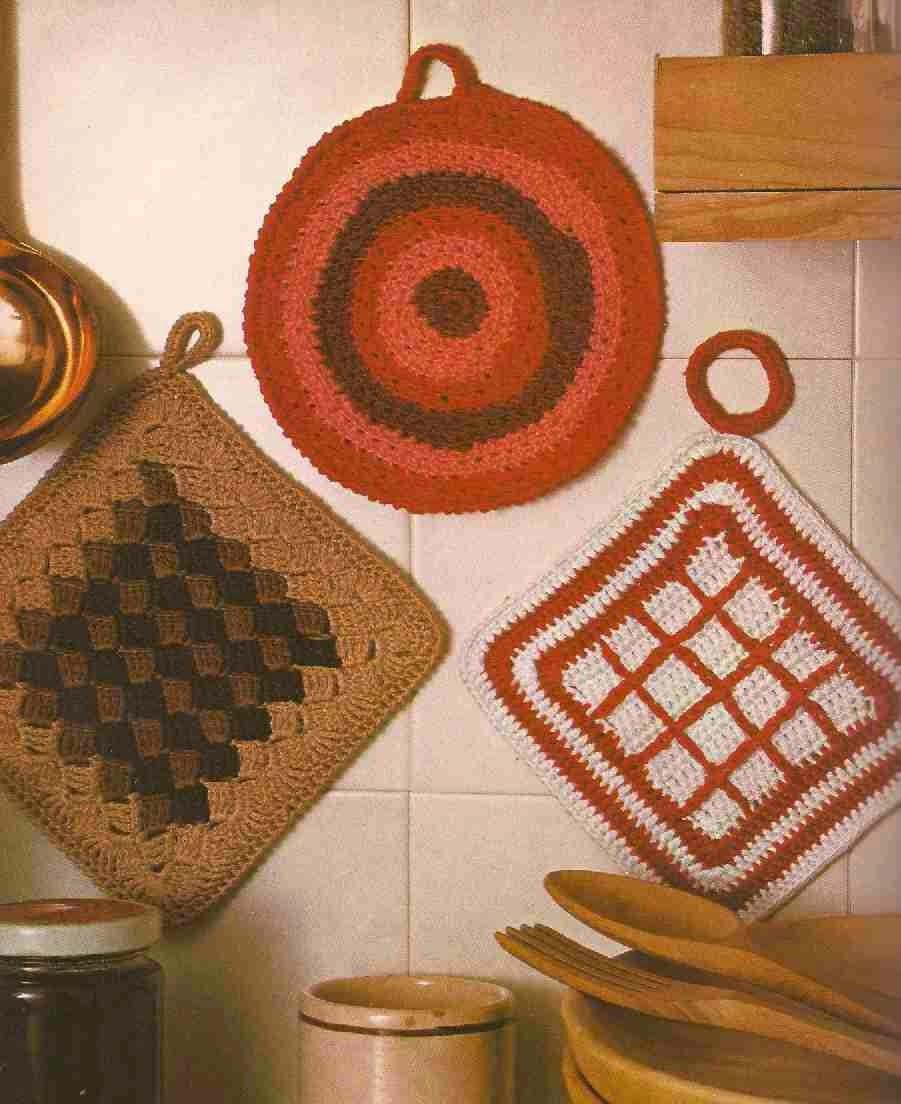 #88 Cogedores a Crochet